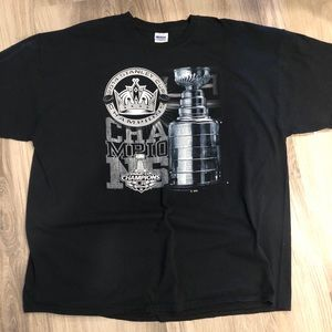 Other - 2014 Stanley Cup Champions LA King's Shirt (XXL)